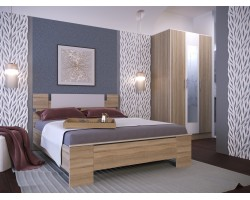 Спальня Оливия в цвете Дуб Сонома