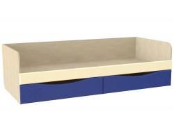 Кровать Капитошка в цвете Синяя Шагрень