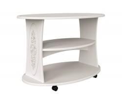 Журнальный столик Ассоль в цвете Белый