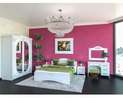 Спальня Ассоль в цвете Белый