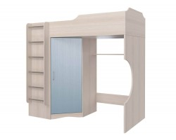Кровать-чердак Флауэ (90x190)