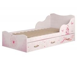 Кровать односпальная Принцесса