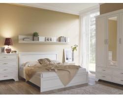 Спальня Tiffany в цвете Вудлайн кремовый