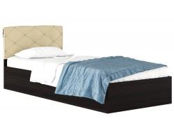 Кровать с матрасом Виктория-П (90х200) фото