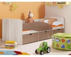 Кровать односпальная Левая Бриз 3 (80х190)
