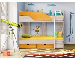 Кровать односпальная Бриз 5 (80х190)