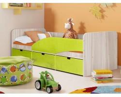 Кровать односпальная Правая Бриз 3 (80х190)