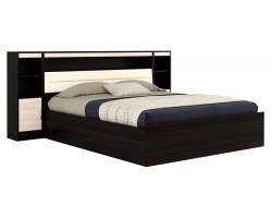 Кровать с пб, тумбами и матрасом ГОСТ Виктория-МБ (180х200)