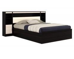 Кровать с пб, тумбами и матрасом ГОСТ Виктория-МБ (140х200)