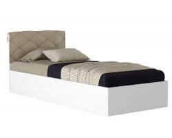 Кровать с матрасом ГОСТ Виктория-П (90х200)