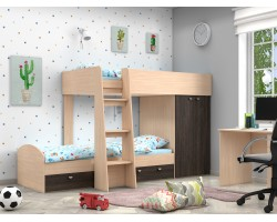 Двухъярусная кровать Golden Kids-2 (90х200)