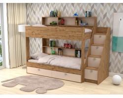 Детская кровать Двухъярусная Golden Kids 10 (90х190)