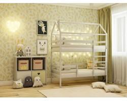 Двухярусная Кровать-домик (70х160) фото