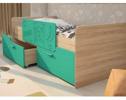 Кровать односпальная Умка