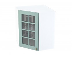 Шкаф для кухни Прованс в цвете Голубой