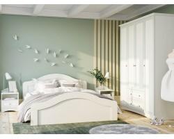 Спальня Прованс в цвете Белый