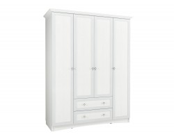 Шкаф Прованс в цвете Белый