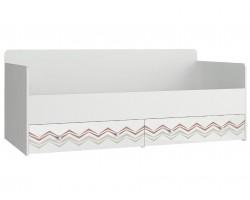 Кровать односпальная - Абрис (90х190)