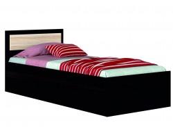 Детская кровать с матрасом ГОСТ Жаклин (90х200)