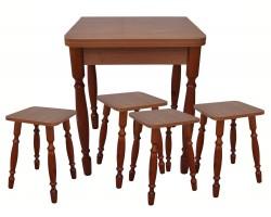 Ломберный (Стол и 4 табурета)