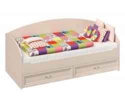 Кровать односпальная Марта в цвете Дуб