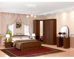 Спальный гарнитур Марта в цвете Орех