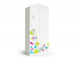 Шкаф-пенал Цветы