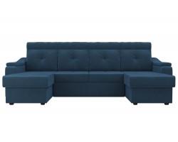 Большой прямой диван Джастин