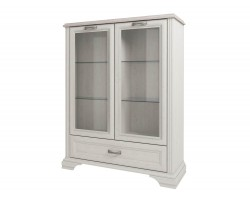 Шкаф с витриной Monako