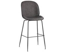 Барный стул Stool Group Beetle PU серый [9329C GREY]