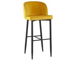 Барный стул Stool Group Оскар вельвет оранжевый [MC11B VELVET HLR-41 DUAL]