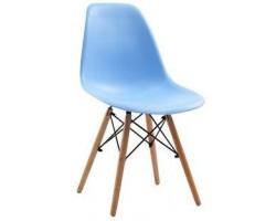 Стул Stool Group Eames DSW голубой [8056PP LIGHT BLUE]