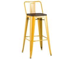 Барный стул Stool Group Tolix Wood желтый [YD-H765E-W LG-06]