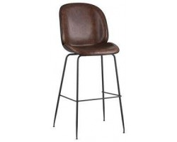 Барный стул Stool Group Beetle PU коричневый [9329C BROWN]