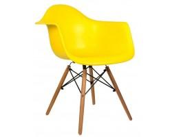 Стул Stool Group Eames DAW желтый [8066 YELLOW SEAT DUAL]