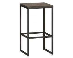 Барный стул Loftyhome Бервин серый [br060203] лофт