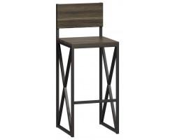 Барный стул Loftyhome Бервин 2 серый [br060303] лофт