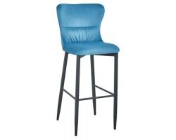 Барный стул Stool Group Лилиан вельвет темно-бирюзовый [MC151B VELVET HLR-59 DUAL]