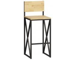 Барный стул Loftyhome Бервин 2 натуральный [br060302] лофт