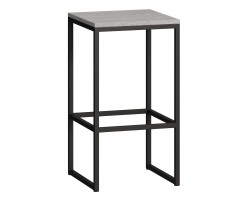 Барный стул Loftyhome Мальборк бетон [mb060208] лофт