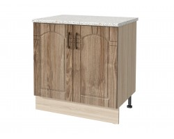 Шкаф для кухни Камила тёмная