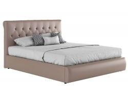 Кровать с подъемным механизмом Мягкая матраом ГОСТ Амели (160х200)