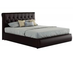 Кровать Мягкая с ПМ и матрасом ГОСТ Амели (180х200)