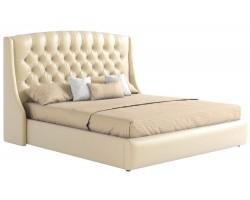 Кровать с подъемным механизмом Мягкая ПМ и матраом Стефани (160х200)