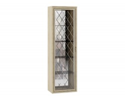 Шкаф-витрина Ливорно в цвете Дуб Сонома