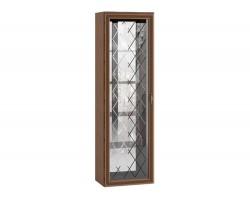 Шкаф-витрина Ливорно в цвете Орех донской