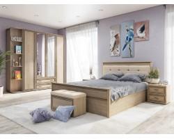 Спальный гарнитур Ливорно в цвете Дуб Сонома