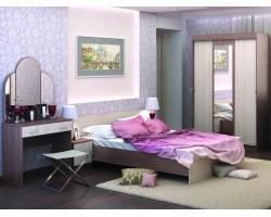 Спальный гарнитур Бася в цвете Шимо темный