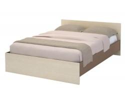 Кровать односпальная Бася в цвете Шимо темный
