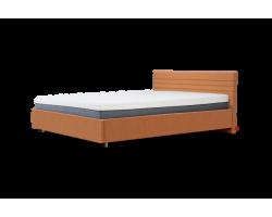 Кровать Basic molly 160x200x80 см Цвет Orange Основание Подъемный механизм